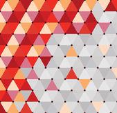 Triangolo ed esagonale — Vettoriale Stock