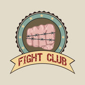 Fight club — Stock Vector