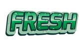 Fresh — Stock Vector