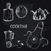 Cooking collection — Vecteur