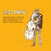 Jazz music — Stock Vector