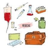医学. — ストックベクタ