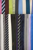 Tie in a modern shop — Stock fotografie