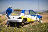 "GRANADA, SPAIN - MARCH 29: II Autocross championship ""El Chaparr — Stock Photo"