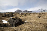 Impressive volcanic landscape on the Snaefellsnes peninsula — Stock Photo