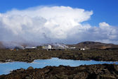 Geothermal bath Blue Lagoon in Iceland — Stock Photo