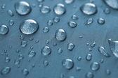 Closeup of rain drops — Stock Photo