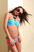 Girl in swimsuit — Stock Photo