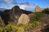Landscape of the island of La Gomera — Stock Photo