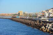 Balneario de Los Cristianos en Tenerife — Foto de Stock