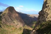 Landscape of the island of La Gomera — Stock Photo