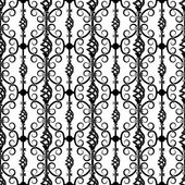 Wrought iron pattern — Stock Vector