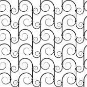 Wrought iron pattern — Stock Vector
