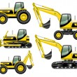 Construction machines — Stock Vector #75965789