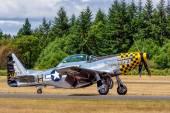 P-51 Mustang — Stock Photo