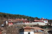 Street and houses in the old town of Koprivshtitsa, Bulgaria — Stock Photo