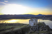 Medieval chapel on the  Pchelina dam, Bulgaria — Stock Photo