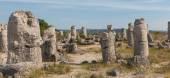 De steen woestijn (Pobiti kamani) in de buurt van Varna, Bulgarije — Stockfoto