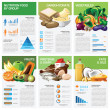 Health And Nutrition Food By Group Infographic Chart Diagram — Stock Vector #82978788