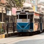 Heritage tramways of Calcutta — Stock Photo #58992417