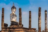 Buddha al Wat Mahathat — Foto Stock