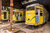 Kolkata trams — Stock Photo