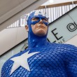 Постер, плакат: Captain America model in The Superhero Past Present Fair