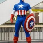 Постер, плакат: Captain America model