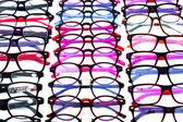 Colorful eyeglasses assortment — Foto de Stock