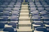 Přednáška židle v místnosti třída — Stock fotografie