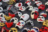 Different types of masks — Stok fotoğraf
