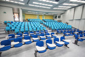 Lecture chairs in a class room — ストック写真