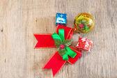 Christmas  ribbon — Stock Photo