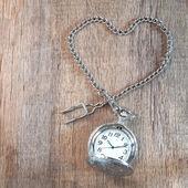 Vintage pocket-watch — Stock Photo