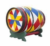 Kolorowe baryłkę — Zdjęcie stockowe