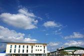 Cielo azul — Foto de Stock