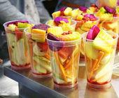 Fruit mixed  cocktai — Foto de Stock
