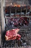 Florentine or Fiorentina steak — Stock Photo