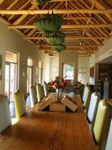 Modern design living room. Vergelegen wine estate. — Stock Photo