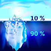 Iceberg — Stock Vector