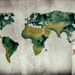 Watercolor World map — Stock Photo #61361147