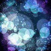 Bokeh colored background — Stock Photo