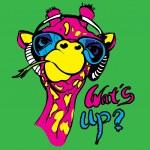 Giraffe art  illustration — Stock Vector #61362711