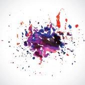 Abstract paint splash background — Stock Vector