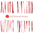 Watercolor brushes — Stock Vector #69723449