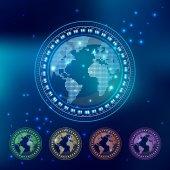 Elementy technologii — Wektor stockowy