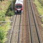 Train approaching — Stock Photo #59135889