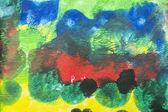 Acrylic colors background — Stock Photo