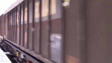 货运列车 — 图库视频影像