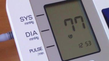 High blood pressure — Stock Video